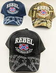REBEL PRIDE HAT ONE DOZEN MIXED COLORS