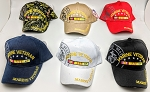 MARINE VETERAN HAT (ONE DOZEN) MIXED COLORS
