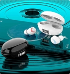 THE K1 EGG BLUETOOTH EARBUDS WHITE
