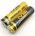 8800mAh RECHARGEABLE 3.7 VOLT BATTERY (2 PACK)