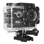 4K ACTION SPORTS CAM WITH WIFI BLACK