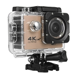 4K ACTION SPORTS CAM WITH WIFI GOLD